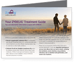 Image of patient brochure: a guide for patients to learn more about their disease and treatment
