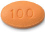 Image of ZYDELIG 100 mg pill