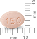 Image of 150 mg pill